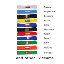 2018 Russia World Cup Headband Football Fan Hair Band Soccer Fan Sweatband  Souvenir Yoga Sport Hairband Scarf Brazil National Team 5ddbae1b7