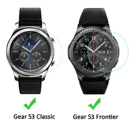 samsung gear smartwatch 2020 - For Samsung Gear S3 Classic SmartWatch Clear Tempered Glass Screen Protector Ultra Thin Explosion-proof Protective Film
