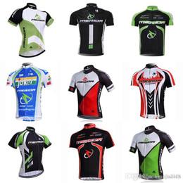 merida cycle tops 2018 - MERIDA team Cycling Short Sleeves jersey Men's Summer Cycling Professional Team Mountain Bike Wear sportswear outdo