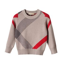 5a0204f48e55c 2018 Otoño Diseño de la Marca Venta Caliente Boy Sweater Lana de Punto  Pullover Cardigan Para Bebés y Niños Ropa Infantil Infantil Top
