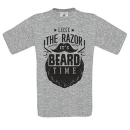 $enCountryForm.capitalKeyWord UK - Loose The Razor Its Beard Time Original Rockabilly Haircut Barber MENS T SHIRT New 2018 Hot Summer Casual T-Shirt Printing