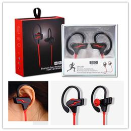 HeadpHones for water online shopping - S30 Luxury Sport Waterproof Earphone Water proof Ear Hook Fashion Bluetooth wireless Running Shower Headphone Hanging Ear Style retail box
