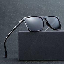 Magnesium Coating Australia - Aluminum Magnesium Eyewear Brand Men's Sunglasses Retro Polarized Coating Mirror Glasses Accessories Sun Glasses For Men