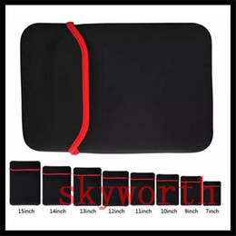 $enCountryForm.capitalKeyWord Australia - 7 inch -15 inch Universal Soft Neoprene Sleeve Case Bag Cover Pouch Pocket For Macbook Ipad air mini Tablet Samsung Tab