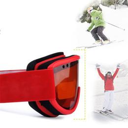 Double ski goggles online shopping - Ski goggles double layer anti fog lens UV400 large spherical men s and women s ski goggles snowboard goggles