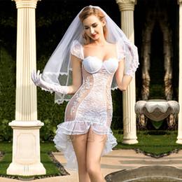 Hot Sexy White Dresses Australia - JiaHuiGe New Porn Women Lingerie Sexy Hot Erotic Wedding Dress Cosplay White Tenue Sexy Underwear Erotic Lingerie Porno Costumes D18110701