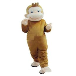 $enCountryForm.capitalKeyWord Canada - 2018 High quality hot Curious George Monkey Mascot Costume Fancy Birthday Party Dress Halloween Carnivals Costume