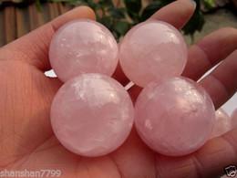 Magic Crystal Healing Ball NZ - Natural Pink Rose Quartz Magic Crystal Healing Ball Sphere 50MM + Stand