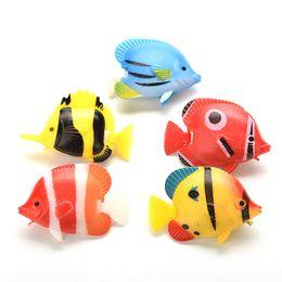 $enCountryForm.capitalKeyWord UK - 1Pcs New Aquarium Artificial Fish Fake Tropical Fish Florating Moveable Tank Aquarium Decoration Kids Bath Toys