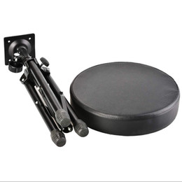 Wholesale stand chair resale online - Professional Padded Drum Throne Seat Stool Stand Drumming Adjustable Chair