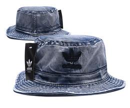 Diseñador de la marca de cuero de la letra del sombrero del cubo para hombre para mujer Gorras plegables Negro Fisherman Beach Sun Visor venta plegable hombre casquette Bowler Cap