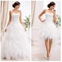 $enCountryForm.capitalKeyWord Australia - Elegant Sweetheart Ball Gown Wedding Dresses with Detachable Skirt 2 IN 1 Tulle Plus Size Tier Train Country Garden Bridal Wedding Gowns