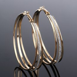 Copper hoop earrings small online shopping - Fashion jewelry New Design u shape small circle silver earings Hollow tip clip cuff earrings Factory manchette