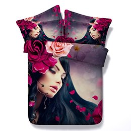 $enCountryForm.capitalKeyWord UK - 3D beautiful floral Duvet Cover Bedding Sets Bedspreads Holiday Quilt Covers Bed Linen flowers Pillow Covers galaxy twin California King