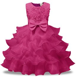 $enCountryForm.capitalKeyWord UK - Europe and the United States 2018 autumn and winter children's performance clothing bow princess dress flower dress Girl's Dresses Free