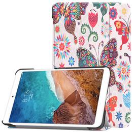 $enCountryForm.capitalKeyWord NZ - Ultra Thin PU Leather Case Smart Cover with Auto Sleep Wake UP for Xiaomi Mi Pad 4 8.0 inch Tablet +Stylus