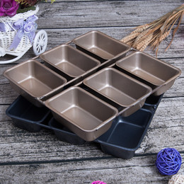 Oven baking mOld online shopping - Fashionable Continuous Steel Wire Square Box Cake Baking Moulds Healthy Nonstick Coating Oven Special Bake Mold DIY Bakeware yt2 X