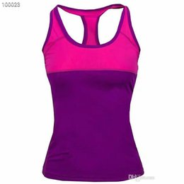 moisture wicking t shirts wholesale 2019 - wholesale-Breathable Women Outdoor Sports T shirts High Quality Ladies Vest CoolMax Quickly Dry Girls Hiking T shirts Br