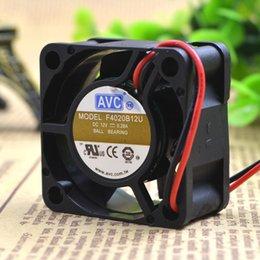 $enCountryForm.capitalKeyWord NZ - For original AVC F4020B12U 12V 0.28A 4CM 4020 2 line large air volume cooling fan