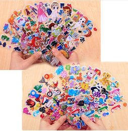 stickers for dresses 2019 - 30 Different Sheets Cute Pet DIY Stickers Cartoon Stickers Toys Animal Girl Dress Up Flowers Emoji PVC Scrapbook Gifts F