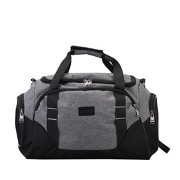 c34535d52cc Durable Gym Bag Travel Outdoor Shoulder Bags Handbag Sports Bags Fitness  Men Crossbody Large For Shoes Pocket Waterproof XA388WA