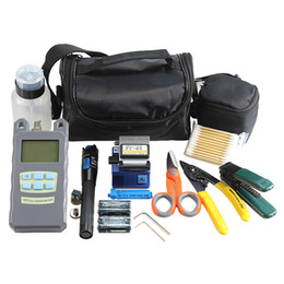 $enCountryForm.capitalKeyWord Canada - 16type Fiber Optic FTTH Tool Kit with Fiber Cleaver and Optical Power Meter 1Mw Visual Fault Locator Wire scissors