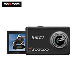 soocoo camera UK - 16GB TF Card + SOOCOO@ S300 4K HD 12MP 2.35 Inch TFT Touch WIFI Screen Sports Action Video Camera DV 170 Degrees Wide Angle Lens
