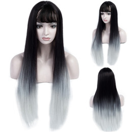Ombre Lace Wig Bangs Online Shopping Ombre Wig Lace Human