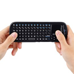 $enCountryForm.capitalKeyWord Australia - Mini Wireless Keyboard 2.4G RF QWERTY Keyboard With Touchpad Air Mouse USB Gaming Keyboard For Android TV Box Tablet PC