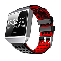 $enCountryForm.capitalKeyWord NZ - Men Smart Bracelet Sport Watch Digital Waterproof Touch Screen Blood Pressure Heart Rate Monitor Pedometer For Android IOS