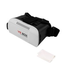 Google Virtual Glasses NZ - Universal 3D Glasses Google Cardboard Game Movie 3D Glass Virtual Reality VR BOX For Arduino IOS Android 4.7 - 6.1 inches Phone