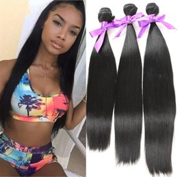 Hair Waves Online Australia - ZhiFan straight hair piece styles hair bundles online extensions colours straighten for black women south africa