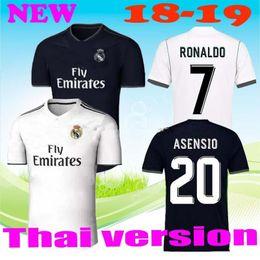 ff6d41b48 2018 2019 madrid Jersey Benzema Ronaldo ASENSIO football Soccer Modric  Kroos Sergio Ramos Bale Marcelo 18 19 Champions League Real Madrid