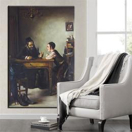 $enCountryForm.capitalKeyWord Australia - Free Shipping Handpainted & HD Print portrait Art Oil Painting desk talk On Canvas,Home Decor Wall Art Multi Sizes  Frame Options p355