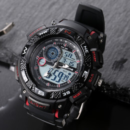 g watch smart NZ - Alike Men Women Smart Watches Stop Clock Sport Chronograph Digital Outdoot G Style Shock Wristwatches Relogio