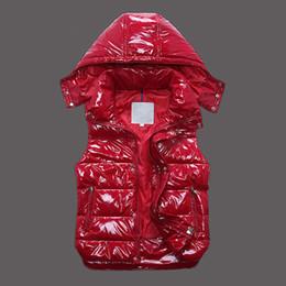 c6a55f565c452 Marca de luxo Homens e mulheres de inverno para baixo colete de penas  weskit casacos das