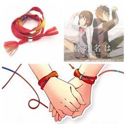 Cosplay names online shopping - Hot Fashion Movie Kimi no Na wa Your Name Miyamizu Mitsuha Bracelet Chain Jewelry Cosplay no clip