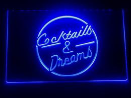 $enCountryForm.capitalKeyWord Australia - I079b- Cocktails & Dream Beer Bar Wine LED Neon Light Sign