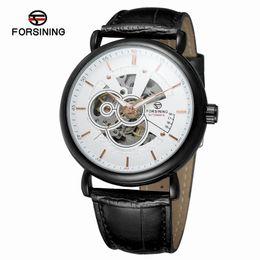 $enCountryForm.capitalKeyWord UK - Fashion Sports Mechanical Watches Men Leather Strap Men's Automatic Business Watches Horloges Mannen reloj hombre