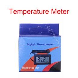 Termometro digitale del sensore del mini misuratore di temperatura per l'acquario Frigorifero dell'automobile DC1.5V dell'acquario dell'acquario di acquario all'aperto