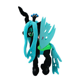 $enCountryForm.capitalKeyWord UK - My Pet Little Doll New Cotton Plush Toy Action Figures Friendship Is Magic Queen Chrysalis