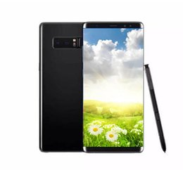android phone 2019 - Goophone Note8 N9 6.2inch cell phones MTK6580 Quad Core 1G 8G Show 4G LTE fack 128GB 64GB Android 6.0 Unlocked Smartphon