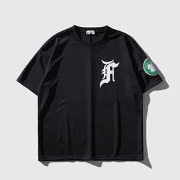 China T Shirt Men Clover Print Men's Tee Shirts O-neck T Shirt Cotton Casual Streetwear T Shirts Summer Loose Fashion Tees supplier long loose t shirts suppliers