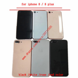 Une coque arrière de qualité pour iPhone 8, 8g, plus X, remplacement de la trappe de protection de la batterie en Solde