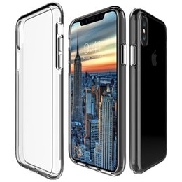 $enCountryForm.capitalKeyWord NZ - For iPhone X 5S 5SE 6S 7 8 Plus 1.33mm Slim Independent Button Anti Scratch Coating Tpu Pc Double Protection Phone Case
