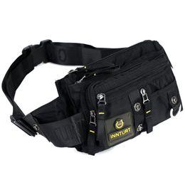 $enCountryForm.capitalKeyWord UK - New Men Nylon Hip Bum Waist Chest Bag Purse Pouch Military Fashion Mulit-Pockets High Quality Shoulder Messenger Fanny Belt Pack
