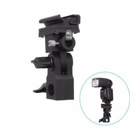 Shoe Umbrella Holder NZ - Trigger Umbrella Light Stand Holder Bracket B Type Mount Hot Shoe Flash Adapter
