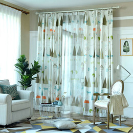 beautiful curtains for living room. Modern Pattern Country Style Beautiful Village Fresh Nature Drapes Printed  Jacquard Blackout Curtain for Living Room Bedroom Curtains For Online