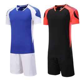 Men sport Running sets soccer kits Training Tracksuit Quick Dry running  shirt Gym Fitness Exercise Clothing fcfc36f79