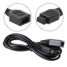 Sega cable online shopping - 9 pin m ft Gamepad Joystick Extension Cord Cable For Sega Genesis Mega Drive Controller DHL FEDEX EMS